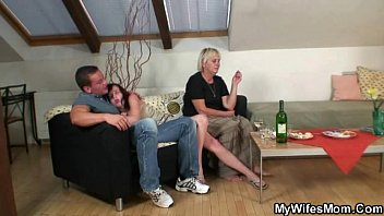 horny granny supersize naked black women seduces son in law