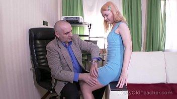 tricky old teacher - women nude wrestling old but tireless teacher satisfies blonde