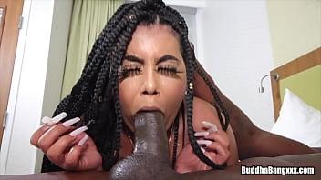 buddhabangxxx.com pornvedios presents kally xo taking the bbc from king louie smalls