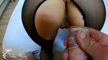 cheating wife stranger takes www sexwap com condom off and gets accidental creampie