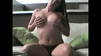sexy milf loves to touch herself sex picture especially her naked tits and pussy