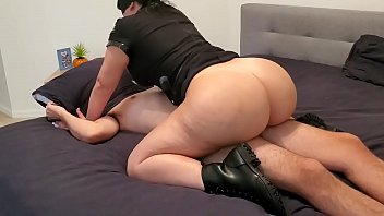 bbw x curvy busty police officer lust catches suspect in action and fucks him
