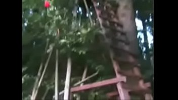naughty teen fucking in the sunny leone x vido fort of her cousins tree