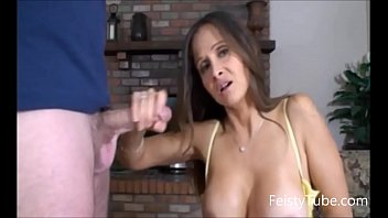 hotwiferio stepmom catches sexpicher son jerking off