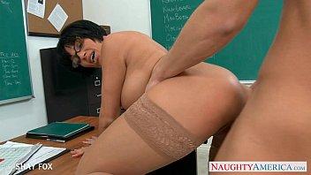 nude massage milf in glasses shay fox fuck in class