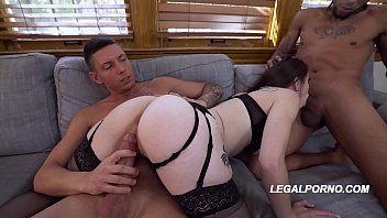 big butt slut anastasia rose gets her butthole pussy and lana rhoades naked face fucked by 3