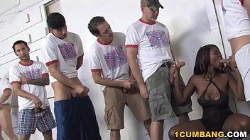 ebony jessica sex full move grabbit enjoys gangbang with white guys