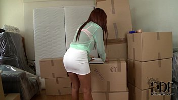 katia de lys wraps her lusty lips smutcam around a cock in a box