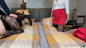 cuckold business sex vedeo trip with secretary business-bitch