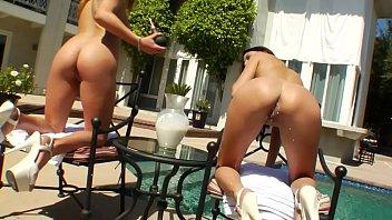 fetish babes loving milk nudist family at home enemas in sun