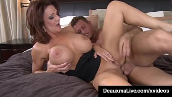 busty xxxx hdvideos cougar mom deauxma sucks and fucks young friend s cock