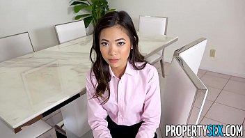 propertysex - hot petite asian real sex picture estate agent fucks her boss