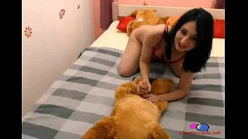 girl gives her dog blow job more hot chicks www bravotube here letf uck69.com