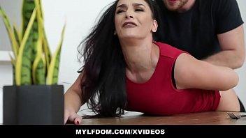naughty america sunny leone mylfdom - submissive mom sheena ryder gets spanked