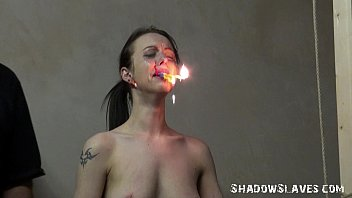 emilys burning prisoner in www sexvideos co bondage and cellblock bdsm