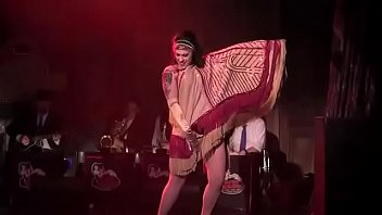 dannie diesel aka danielle colby performs with bustout burlesque poarn video new orleans