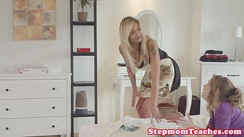 xx school video tattooed stepmom ffm fun with curious teens