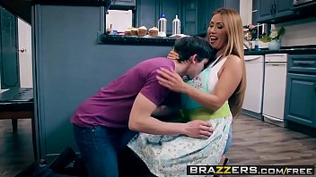 indian lady fuking brazzers - mommy got boobs - bake sale bang scene starring kianna dior and alex d
