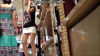 x vedies exciting shopping mall upskirts