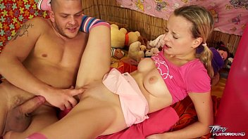 teenyplayground babysitter sex video foreign tight pussy wrecked by older man with big cock