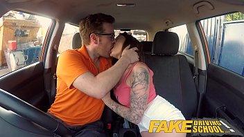 fake sex 2050 driving school spanish kitty cat rides cock