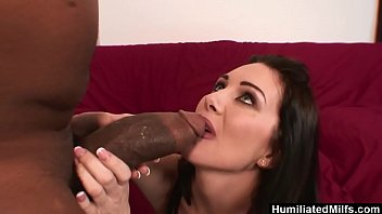 humiliatedmilfs - she loves his 18 sexy video monster black stick