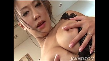 yayoi yanagida in a lacey bra plays with sex photo her big tits for her fuck buddy driving