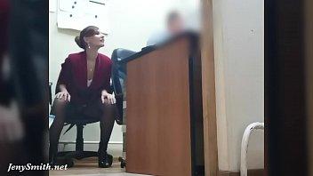 sex vedeo i ve got a new job. jeny smith gets naked at her new job. hidden cam prank