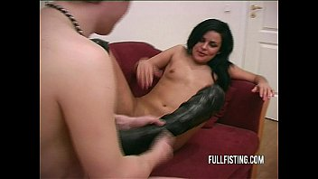 hard www sex com and deep pussy fisting to a tight pussy