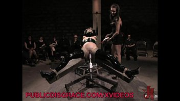 pornomovie slave at the center of attention