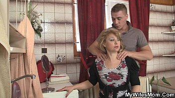 m.-in-law jumps at his big cock as his sexcandal wife leaves