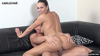 mea melone creampied by sexigiral muscle guy matt in her reality show