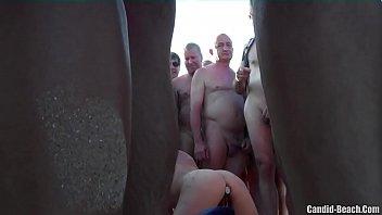horny milf pierced pussy world best porn movie fucked on the beach by voyeurs