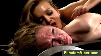 yuijzz lezdom victim weeps as mistress