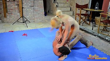 stacie star wrestles with sex pic her new toy sebastian